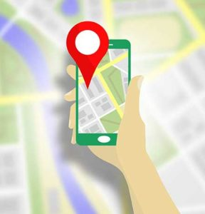 How does Google Maps Work location service
